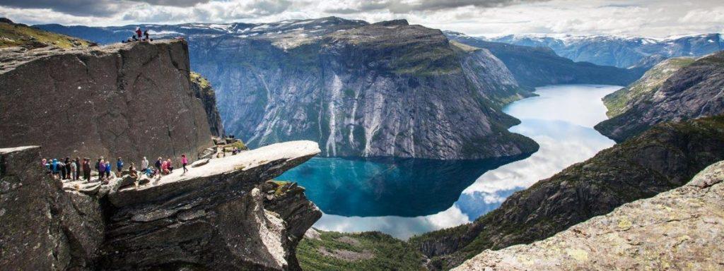 Fjord Noorwegen