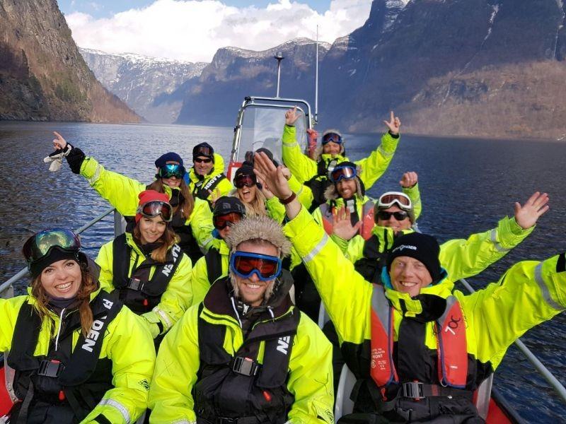 Op Fjordsafari in Noorwegen