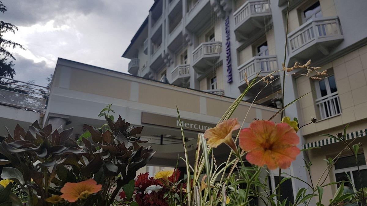 Onze uitvalsbasis in Brides Les Bains