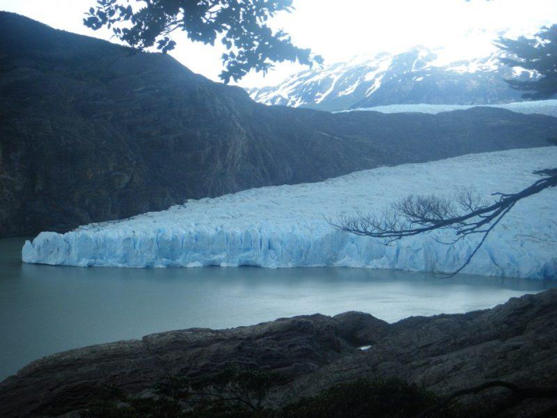 Prachtig, zo'n bewegende gletsjer