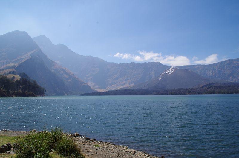 Het kratermeer Segara Anak.