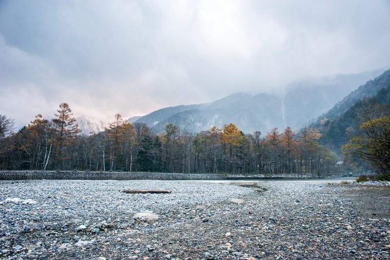 Kamperen in Kamikōchi, Japan