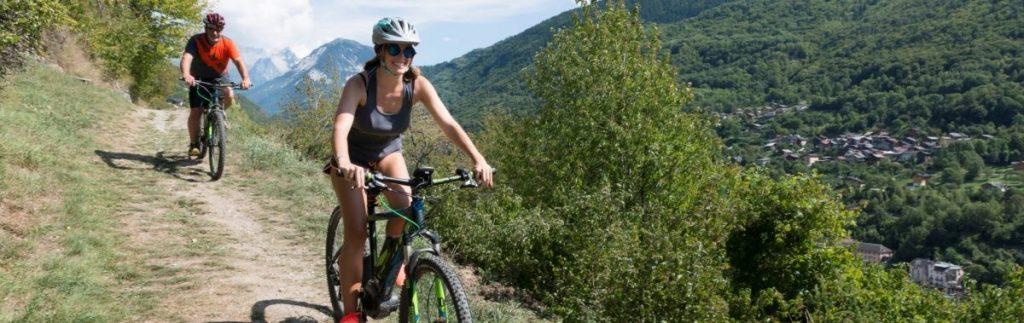 Mountainbike Brides les Bains