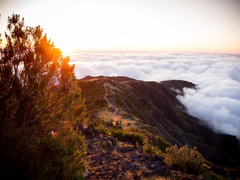 Ultra SkyMarathon Madeira 2018 zonsopgang bergen