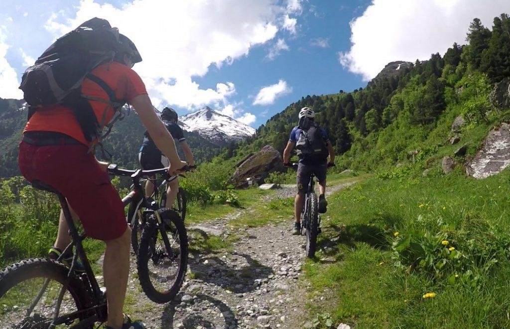 Mountainbike Meribel Brides les Bains