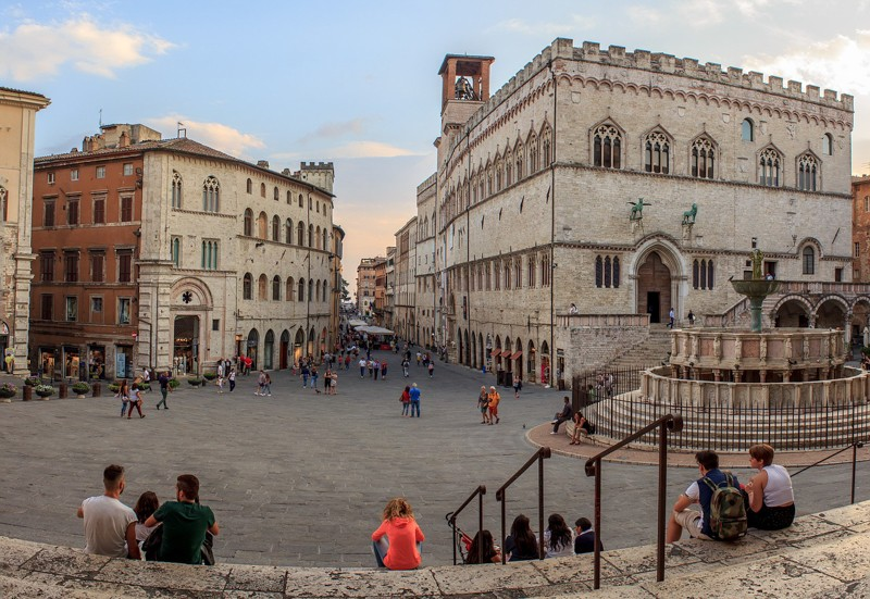 Perugia // foto via Pixabay
