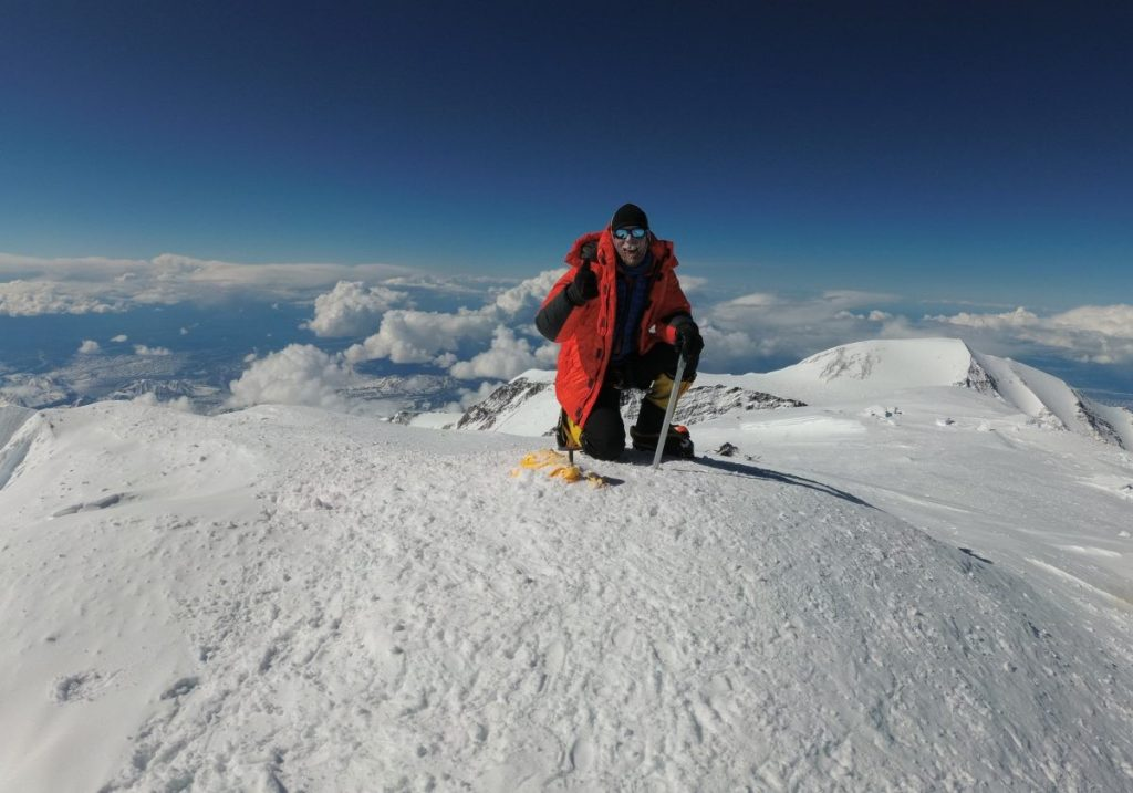 Op de top, eindelijk!