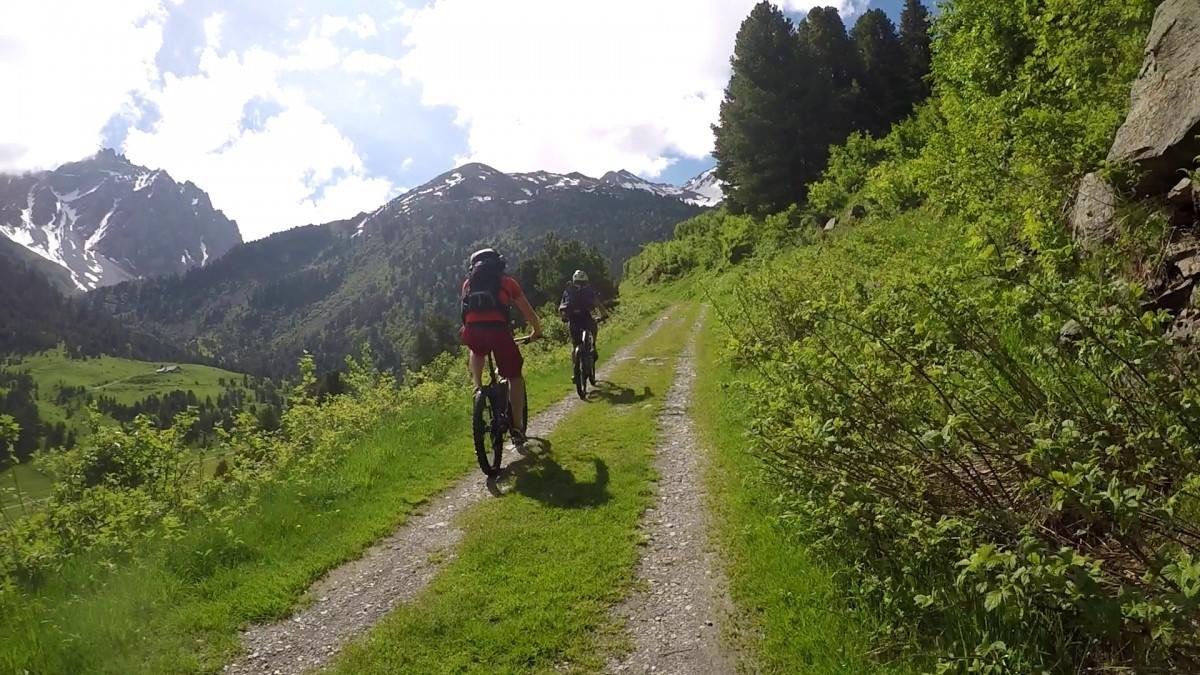 E-mountainbike in Meribel Brides les Bains
