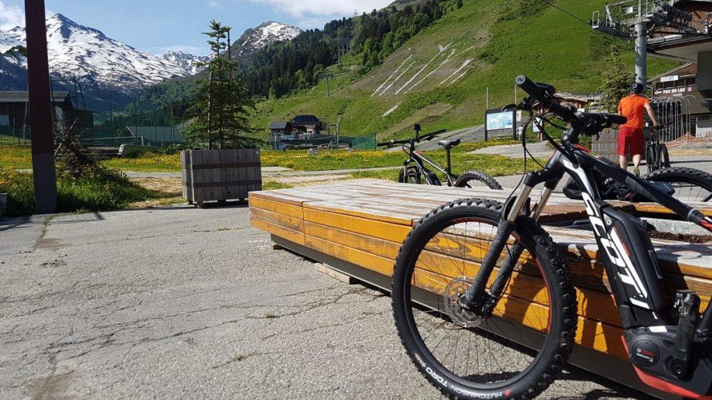 E-mountainbike Scott