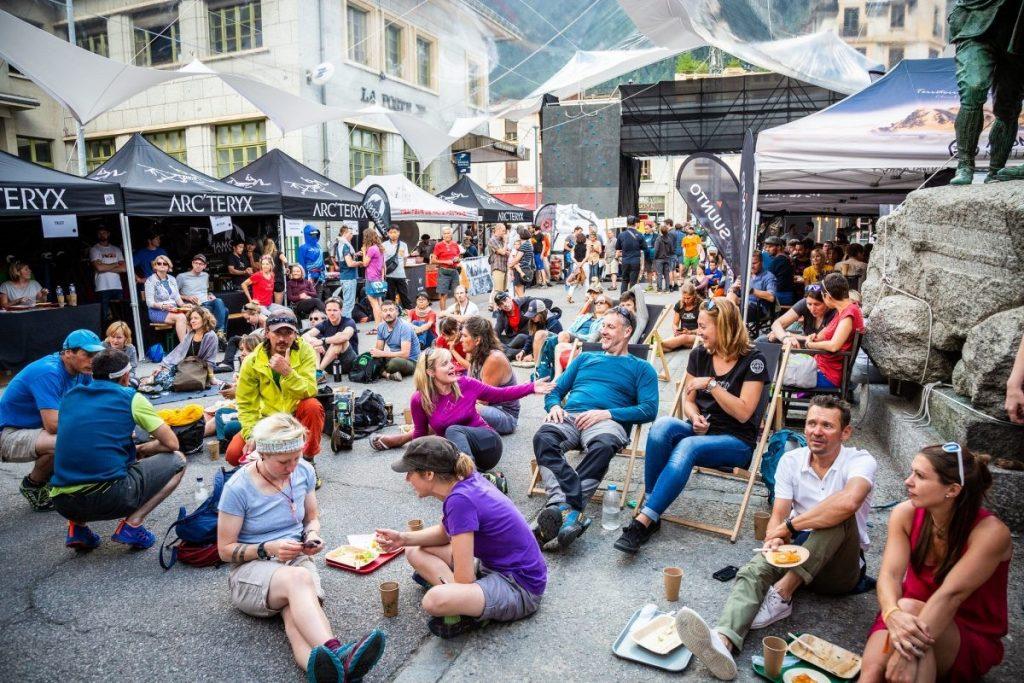 Relaxte sfeer in het Alpine Village