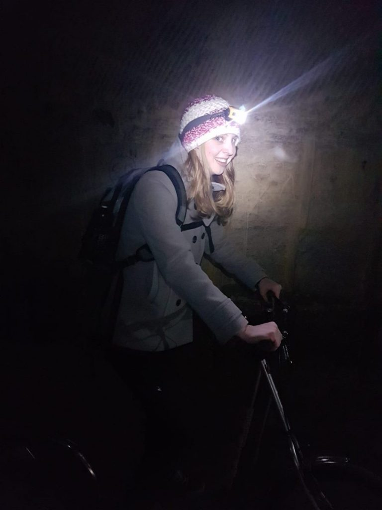 Op de step mergel grotten