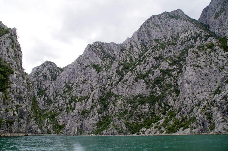 De fjorden van Albanië
