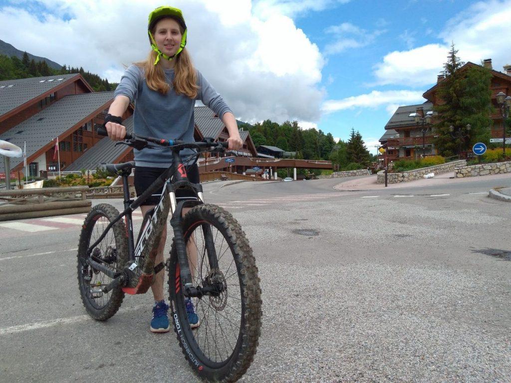 E-mountainbike in Meribel