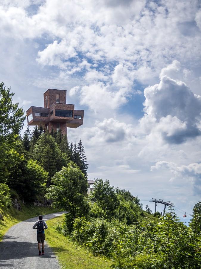Jakobskreuz Buchensteinwand Pillerseetal