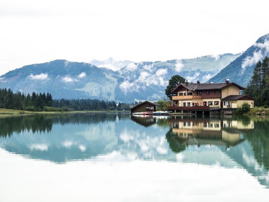 Pillersee meer Pillerseetal St Ulrich
