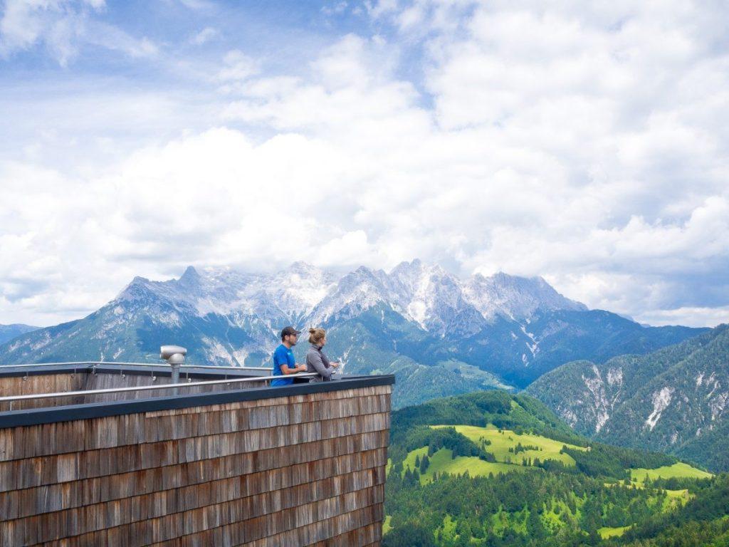 pillerseetal oostenrijk kitzbuheler alpen Jakobskreuz