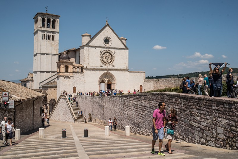 Umbrië, Italië, Assisi