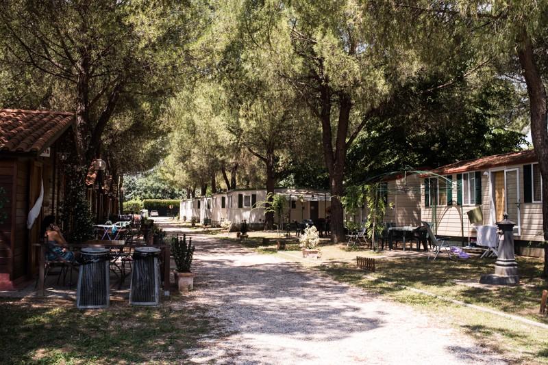 Umbrië, Italië, camping