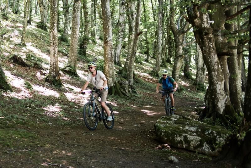 Umbrië, Italië, mountainbike, Monte Cucco