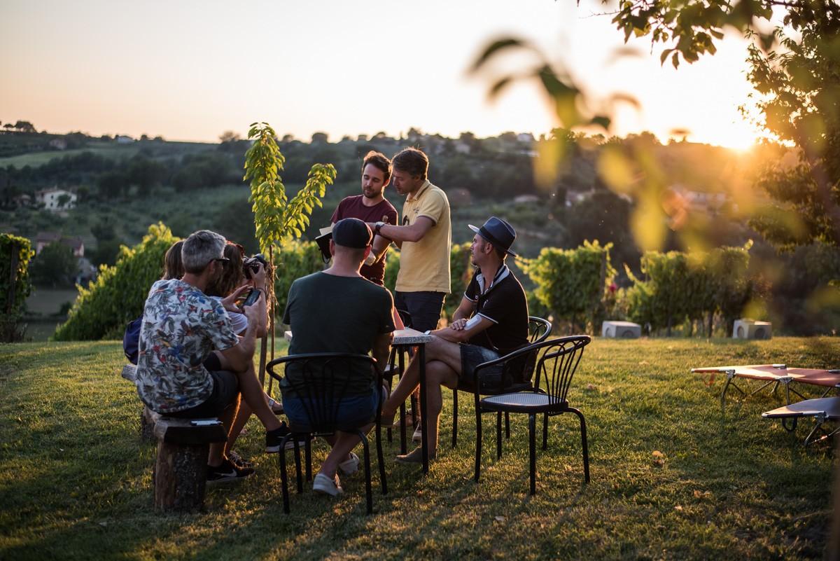 Umbrië, Italië, gastronomie, heuvels, wijnranken