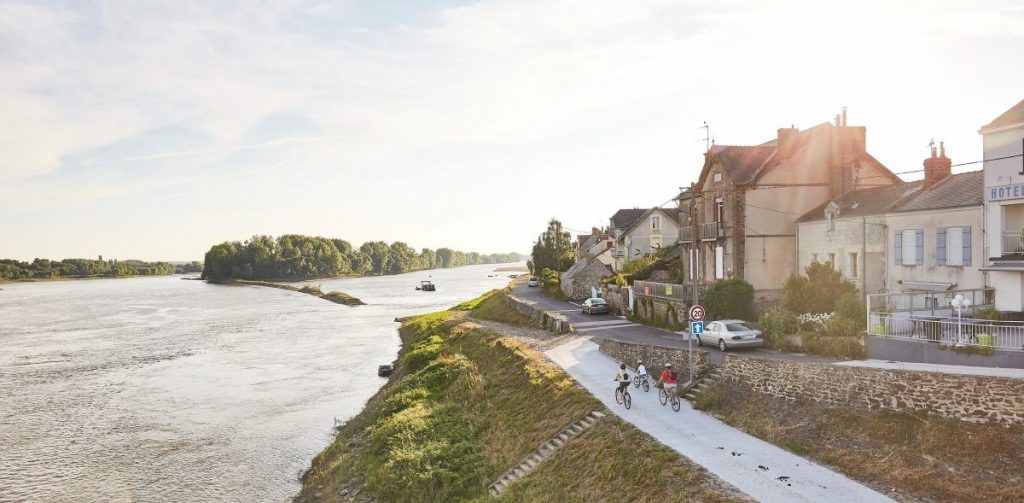 Fietsen langs de Loire