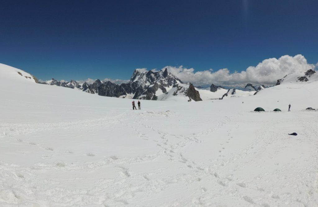 Schitterende uitzichten op de gletsjer