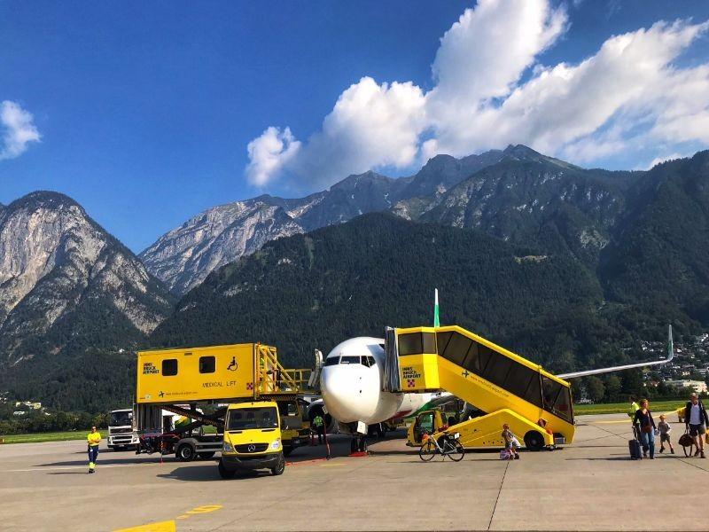 Vliegveld Innsbruck
