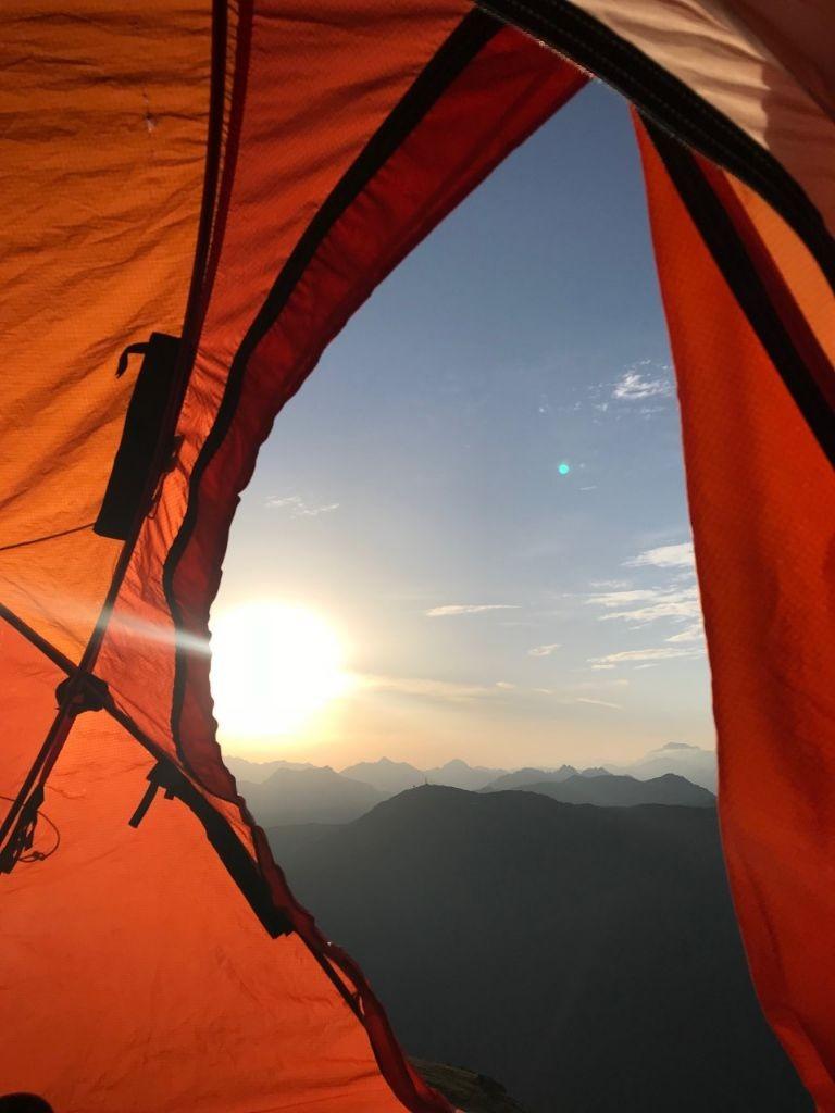 wakker worden met een view, Livign