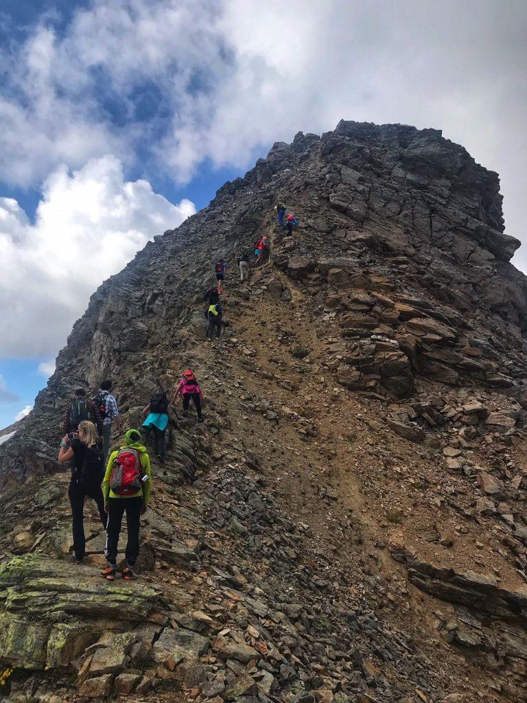 Hiken naar de Pizzo Campaccio op 3000 meter