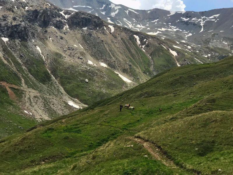 Hiken in de vallei van Livigno