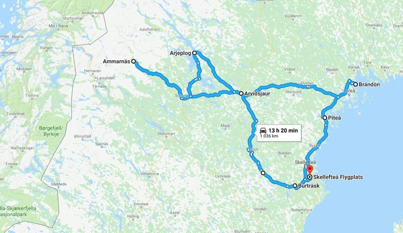 Roadtrip Zweden