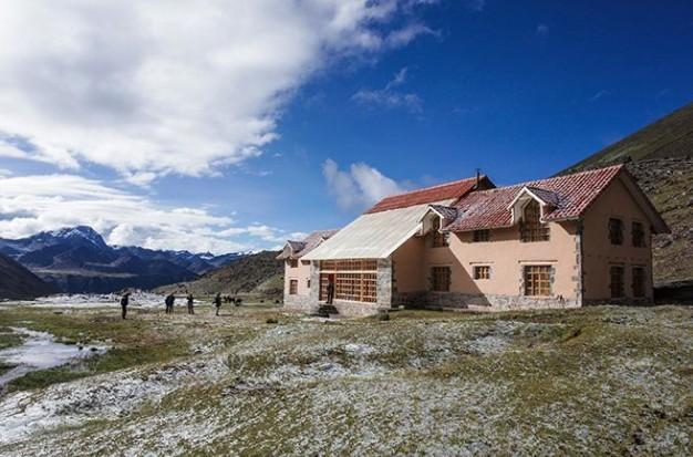 Machuraccay Tambo is de hoogste ecolodge ter wereld op een hoogte van 4.815 meter.