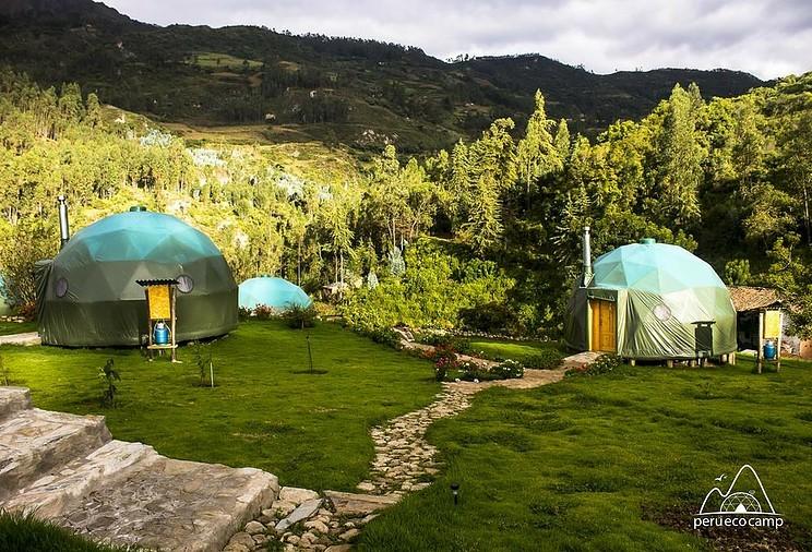 Peru Ecocamp heeft vijf prachtige ecolodges langs de Salkantay-route
