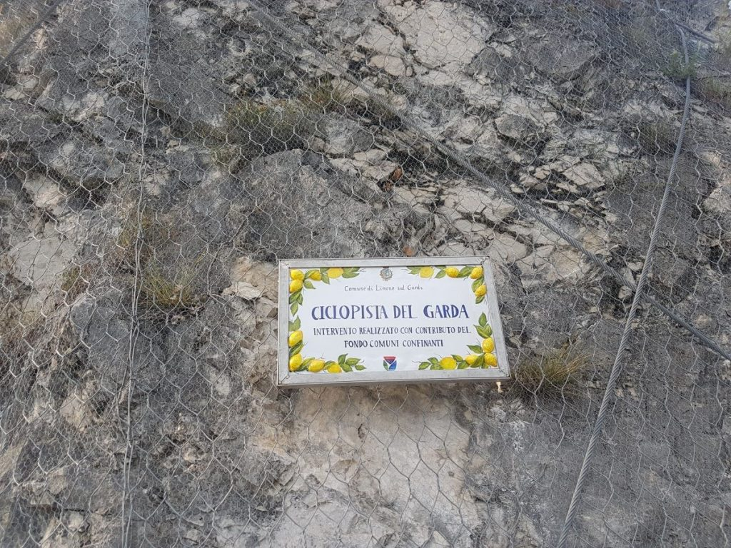Start Fietspad Limone Sul Garda