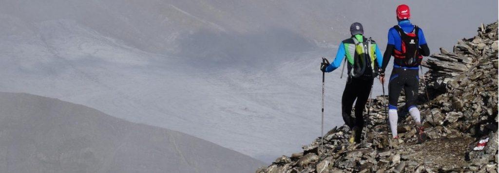 Crans-Montana Zwitserland trail mountainreporters - ando Park