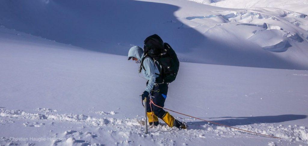 Beklimming van Denali