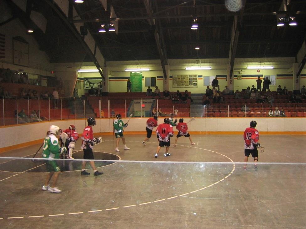 Lacrosse - Nanaimo. Eigen foto: Noëlle Verhage