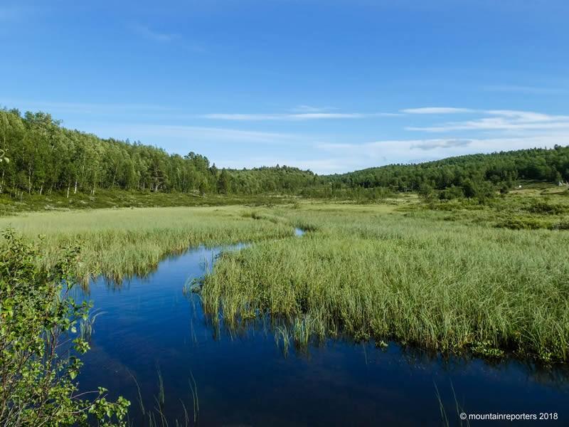 Lapland wandelen