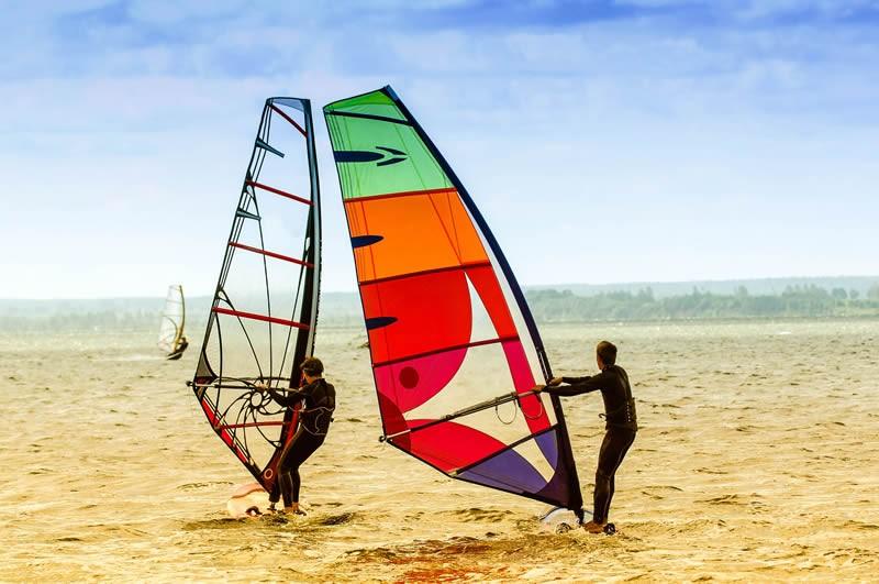 windsurfen polen