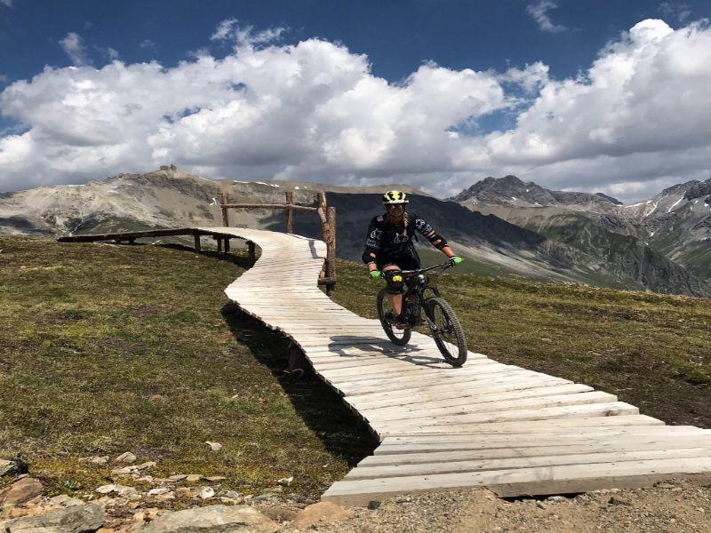 Mountainreporter Karin, Livigno