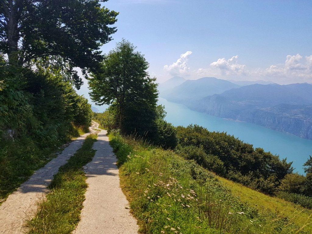 Gardameer Uitzicht Monte Baldo