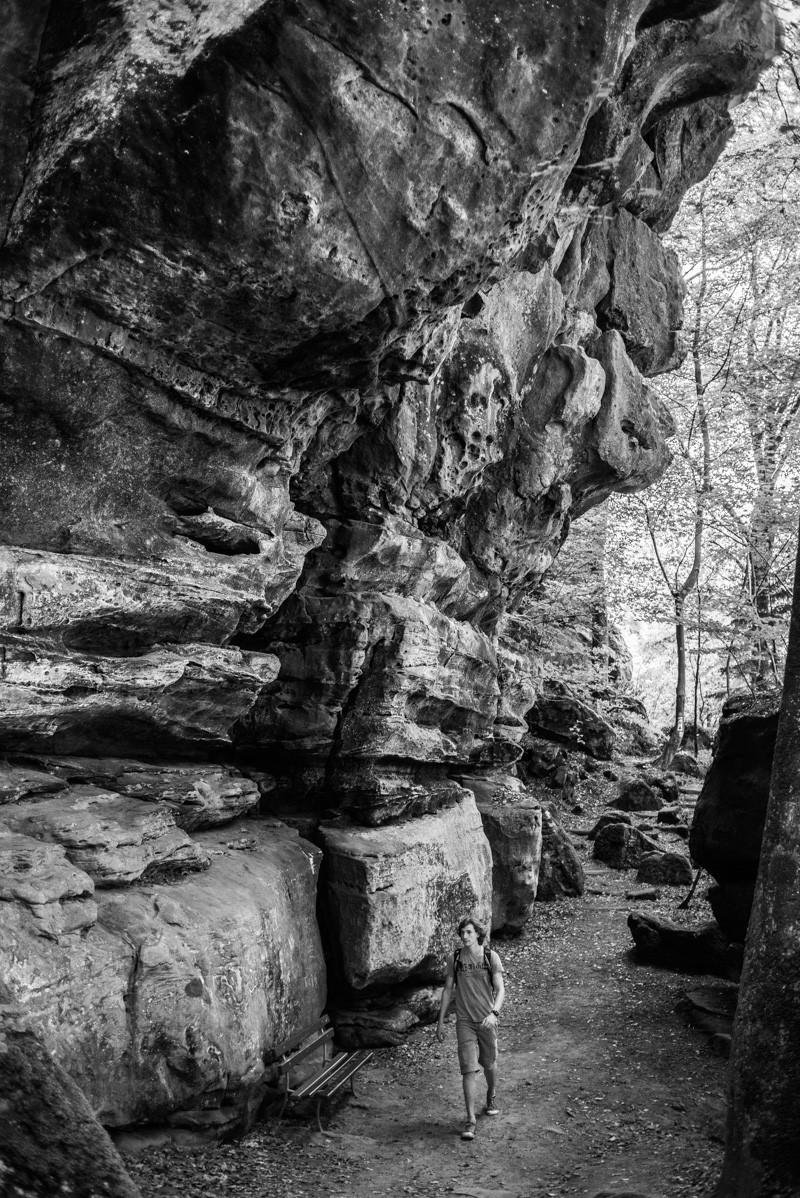 Prachtige rotsformaties in het Mullerthal | eigen foto: Manja Herrebrugh, Mountainreporters