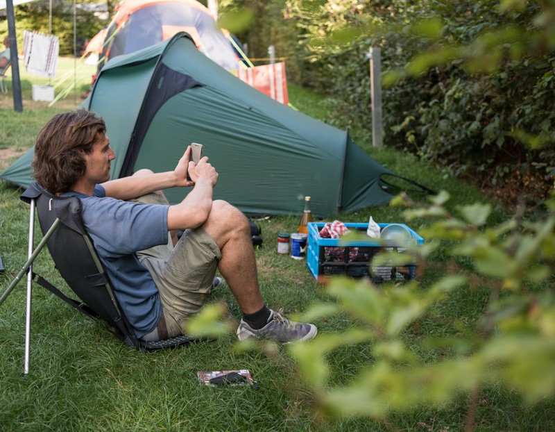 Op de camping in Berdorf | eigen foto: Manja Herrebrugh, Mountainreporters