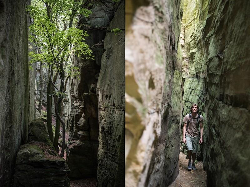 Tussen de rotsen | eigen foto: Manja Herrebrugh, Mountainreporters