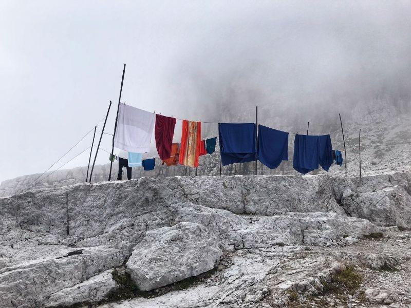 Wasjes bij de Rifiguo Tosa e T. Pedrotti