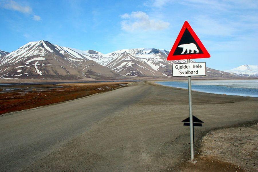 Marathon in Spitsbergen