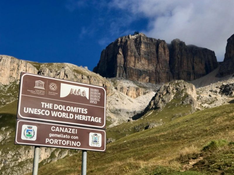 De Dolomieten zijn Unesco Werelderfgoed