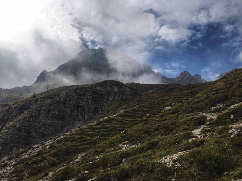 """Het """"Schotse natuurlandschap"""" met de Brenta Dolomieten"""