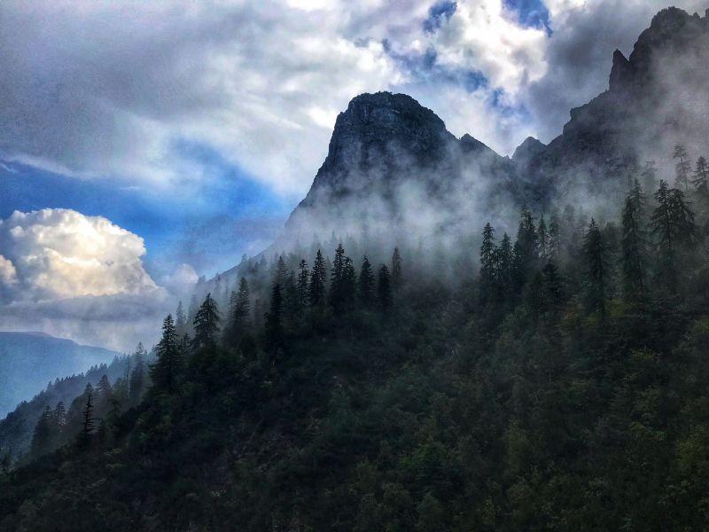 Magische beelden in de Dolomieten