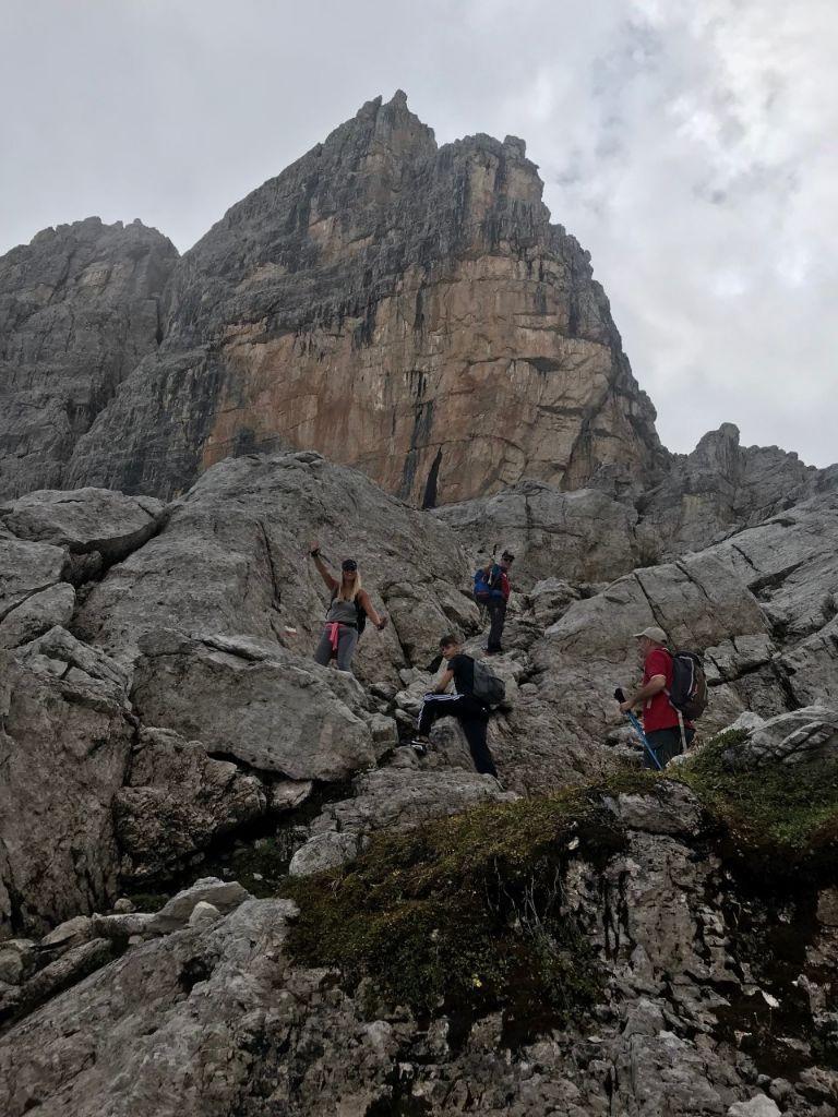 Klimmen in de Brenta Dolomieten